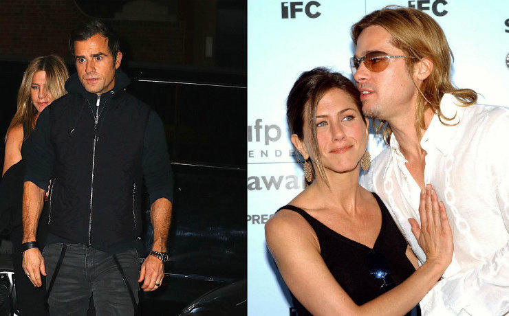 Jennifer aniston came with her husband to light after news