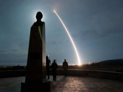 U.S. test fires ballistic missile from California coastal base