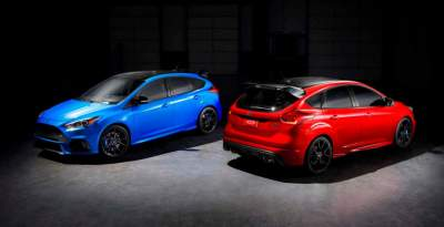 Limited Edition 2018 Ford Focus RS Marks the End of the Line