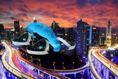 Riding high: Toyota eyes flying car future