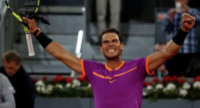 Rafael Nadal beats Novak Djokovic in straight sets to reach Madrid final