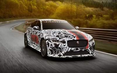 441kW Jaguar XE SV Project 8 revealed