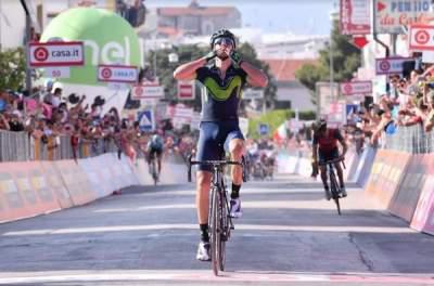 Izaguirre wins Stage 8 of Giro; Jungels stays in pink