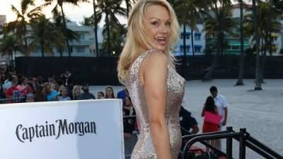 Remarkable, rather Pamela anderson see through