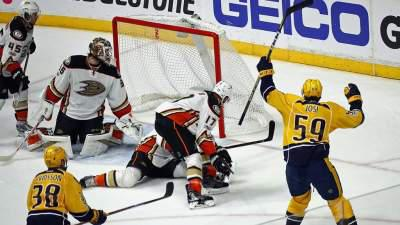 Slow start against Predators costly for Ducks