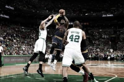 Cavs rout Celtics 117-104 in Eastern Conerence finals Game 1