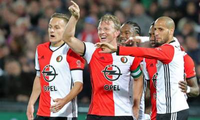 Feyenoord win first Eredivisie title in 18 years after holding off Ajax
