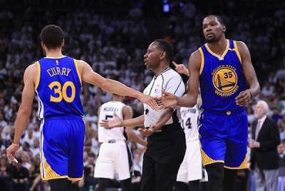 Kevin Durant, Warriors beat Spurs 120-108, take 3-0 lead