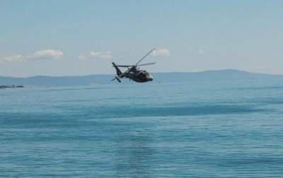 Bulgarian military helicopter crashes in Black Sea, one killed