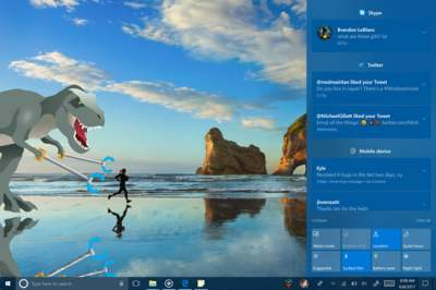 Windows 10 to get Multi-step interactive notifications