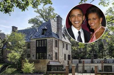 Obamas buy $8.1m home in Washington DC