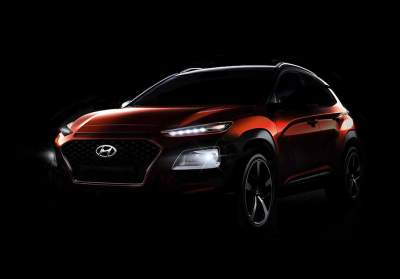 Hyundai Kona Fully Shows Its Wacky Design
