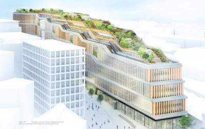 Google plans for new 1 million sq ft London headquarters
