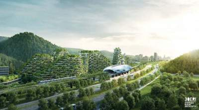 China planning 'forest city' with one million plants and 40000 trees