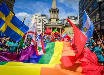 Pride 2016: Thousands gather in central London for biggest ever Pride parade