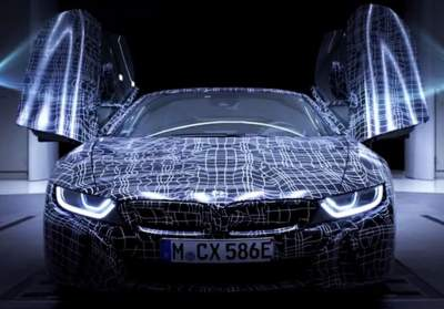 BMW i8 Roadster spreads its 'wings' in teaser video