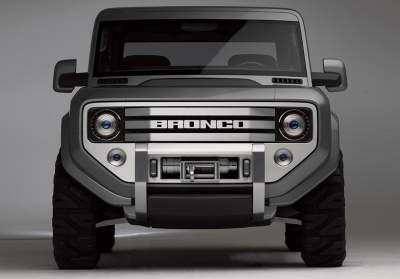 Ford Bronco in third design iteration