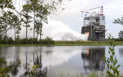 Success! Engine for NASA's Space Launch System Megarocket Aces 3rd Test