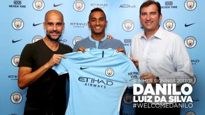 Danilo : Real Madrid defender completes Man City move