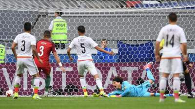 Chile vs. Germany in Confederations Cup championship