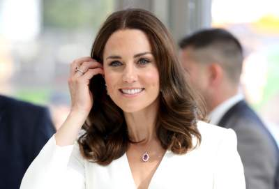 Kate recycles an old favourite to wear at Ypres service