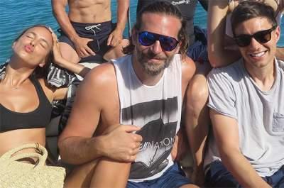 Bradley Cooper and Irina Shayk enjoy Tahitian holiday with A-list friends