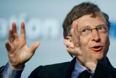 Bill gates has given to charity a huge fortune