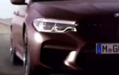 BMW M5 previewed; First Edition, 10.5L/100km confirmed