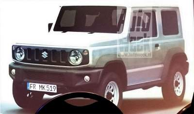 Suzuki Jimny leaked - Could be the new gen Maruti Gypsy for India