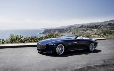 Mercedes unveils 6-meter Maybach 6 Cabriolet