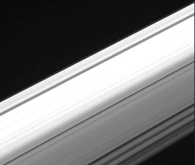 NASA's Cassini Shows What Saturn's Rings Look Like From the Inside Out