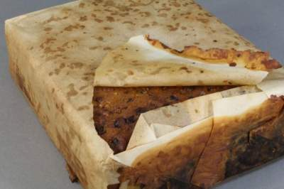 100-Year-Old Antarctic Fruitcake Is 'Almost' Edible