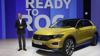 The 2018 VW T-Roc crossover looks great, but where's the EV?