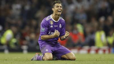 Cristiano Ronaldo wins UEFA's best player in Europe award