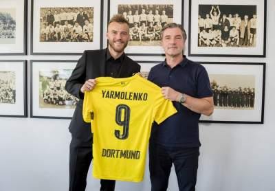 Dortmund land Yarmolenko after Dembele exit