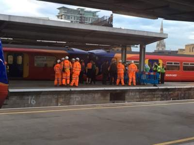 Train Derails At London Waterloo, Causing Huge Delays