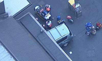 Five injured after vehicle  ploughs into crowd at busy Sydney shopping strip
