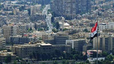 Russia's embassy in Damascus comes under fire