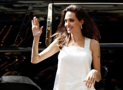 Angelina Jolie: My kids worked hard on film set