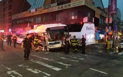 A awful accident in NY: three dead