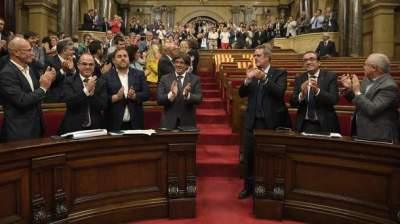 Spanish government legal moved to suspend Catalan referendum on independence