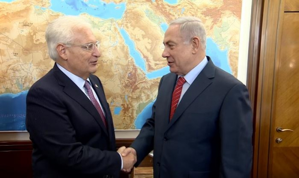 US Ambassador: Israel occupies just two per cent of West Bank