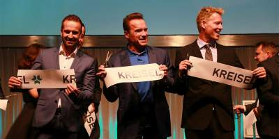Kreisel Electric Hummer H1 Launched By Arnold Schwarzenegger
