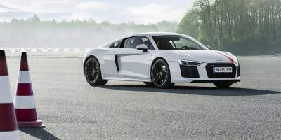 Frankfurt Motor Show: Audi R8 V10 RWS