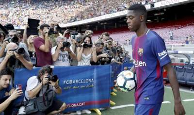 FC Barcelona's Ousmane Dembele out for 3-4 months due to injury""