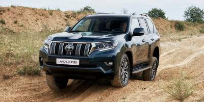 Toyota Land Cruiser Prado facelift unveiled