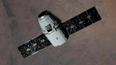 SpaceX Dragon cargo capsule released from ISS
