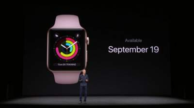 Apple Watch Series 3 Packs in New Functionalities to Attract Consumers