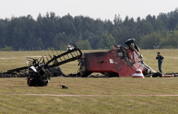 Horrifying crash at airshow leaves two pilots dead