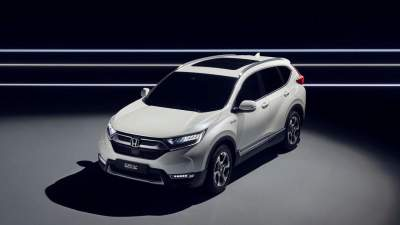 Upcoming Honda CR-V Hybrid Previewed